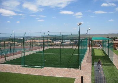 Multi Purpose Soccer Arena and Cricket Practise Net